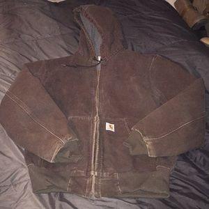 Jackets & Blazers - Brown carhartt